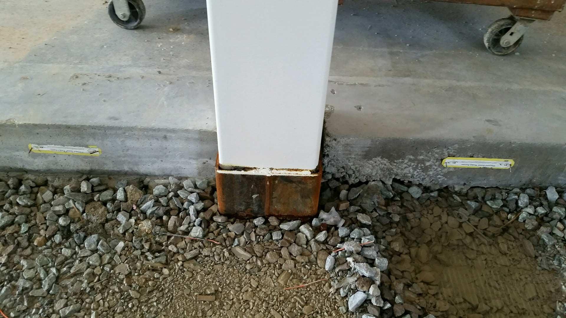 Connect-EZ column socket installed